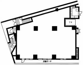 パークアクシス高田馬場:基準階図面
