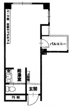 トーカン渋谷キャステールビル:基準階図面
