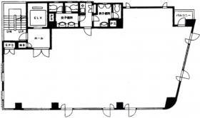 塔文社ビル:基準階図面