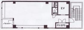 河内ビル:基準階図面