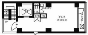 JGN神田ビル:基準階図面