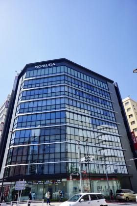 新宿野村證券ビルの外観写真