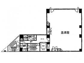 JBSL神田ビル:基準階図面