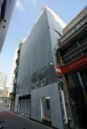 (仮称)銀座6丁目PJビルの外観写真