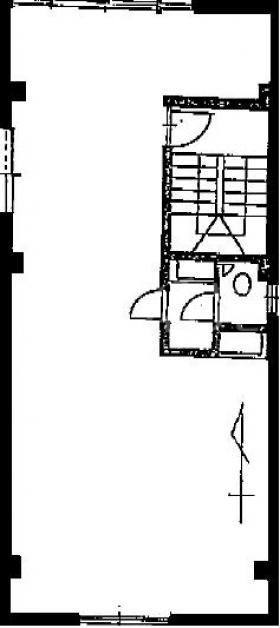 MSビル:基準階図面