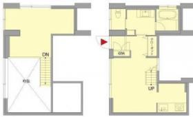 表参道393ビル:基準階図面