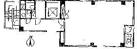 日進ビル:基準階図面