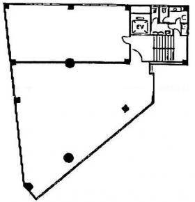 代々木ユーアイビル:基準階図面