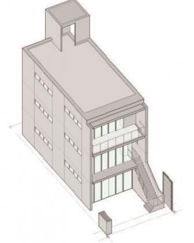 仮)広尾5丁目ビルの外観写真