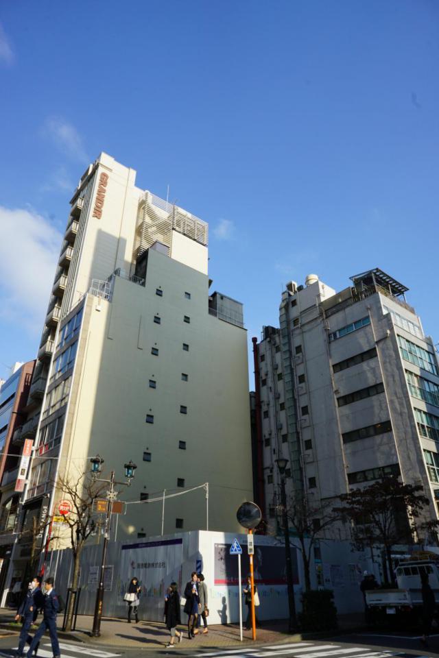 仮)銀座阪急ビル B1F 64.43坪(212.99m<sup>2</sup>)のエントランス