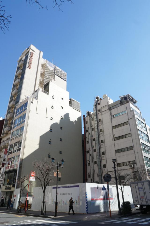 仮)銀座阪急ビル 4F 68.06坪(224.99m<sup>2</sup>)のエントランス