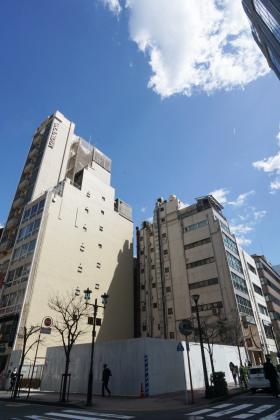 仮)銀座阪急ビルのエントランス