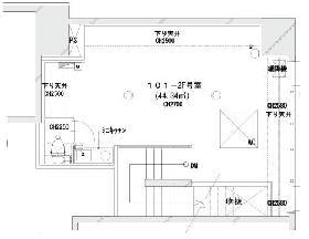 グランドメゾン九段南:基準階図面