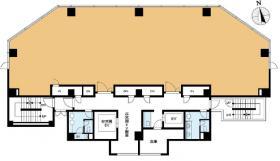日本FLP虎ノ門ビル:基準階図面