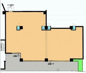 フォンターナみのり台:基準階図面