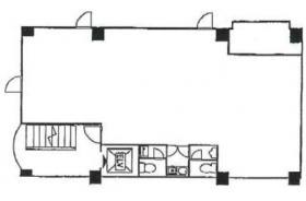 ウィンド入船ビル:基準階図面