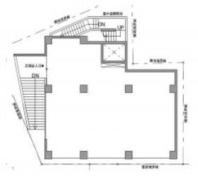 (仮称)六本木7丁目計画:基準階図面