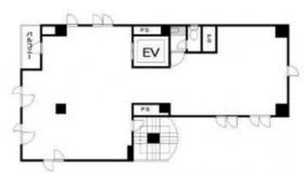富久町第5服部ビル:基準階図面
