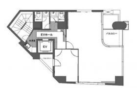 写真製版会館:基準階図面