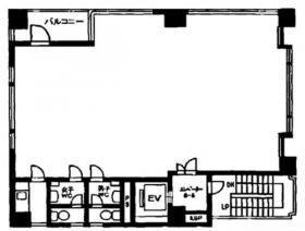 スカイワードビル:基準階図面