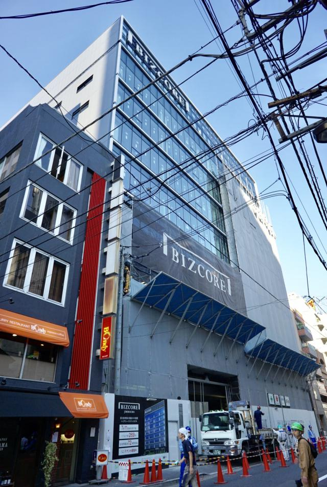 BIZCORE神保町ビル 2F 269.25坪(890.08m<sup>2</sup>)のエントランス