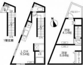 アルボォル上十条ビル:基準階図面
