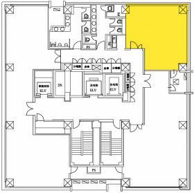 麹町パークハウス:基準階図面