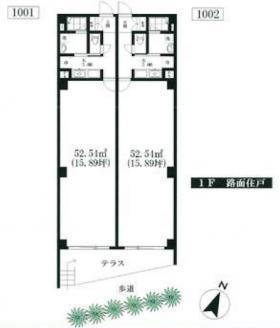 ARKビル:基準階図面