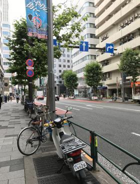 CROSS COOP新宿AVENUEビルの内装