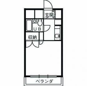 ヴェルス本八幡ビル:基準階図面