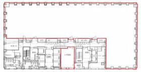 エグゼクティブセンター新丸の内センタービル:基準階図面