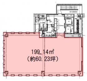 渋谷S.野口Bldg.:基準階図面