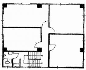 小黒ビル:基準階図面
