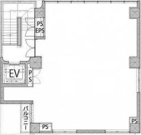 グランデオ中目黒ビル:基準階図面