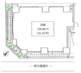 正金アパートメント入船:基準階図面