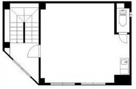 京電会館ビル:基準階図面