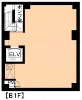 サンリット銀座Ⅲビル:基準階図面