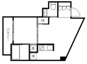 ラ・ストーリア芝浦:基準階図面