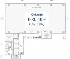 PMO田町東ビル:基準階図面