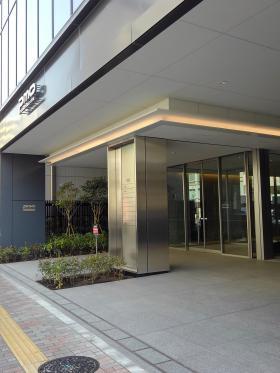 PMO田町東ビルのエントランス