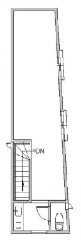 ガーデンサイド代々木:基準階図面