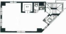 東日本橋Y,sビル:基準階図面