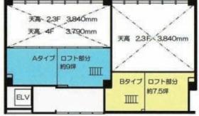 KAZU表参道:基準階図面