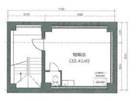 銀座昭和イーティングビル:基準階図面