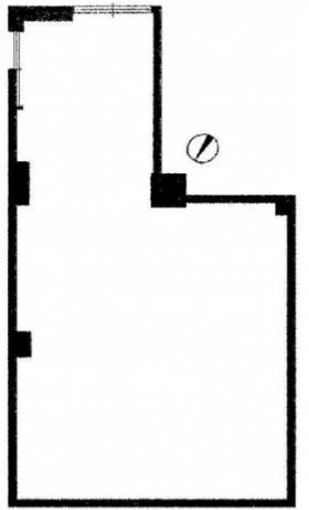 EDIFICE西新宿:基準階図面