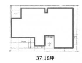 (仮称)TH西新宿ビル:基準階図面