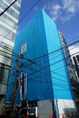 アパホテル八丁堀新富町の外観写真