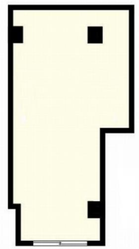 マークミュー鴨居ビル:基準階図面