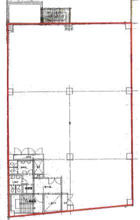 経堂1丁目ビル:基準階図面