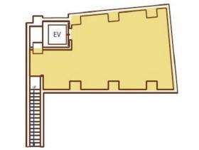 GINZA12ビル:基準階図面